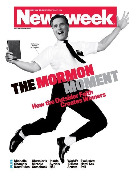 newsweek mormons rock. Not Funny: Newsweek Attacks