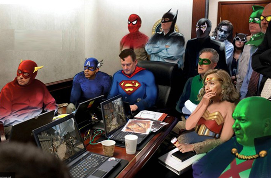 Sit room_superheros