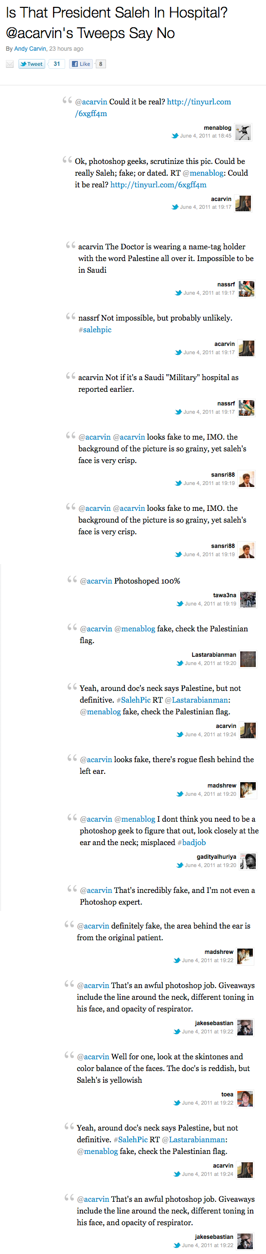 Photofake tweets
