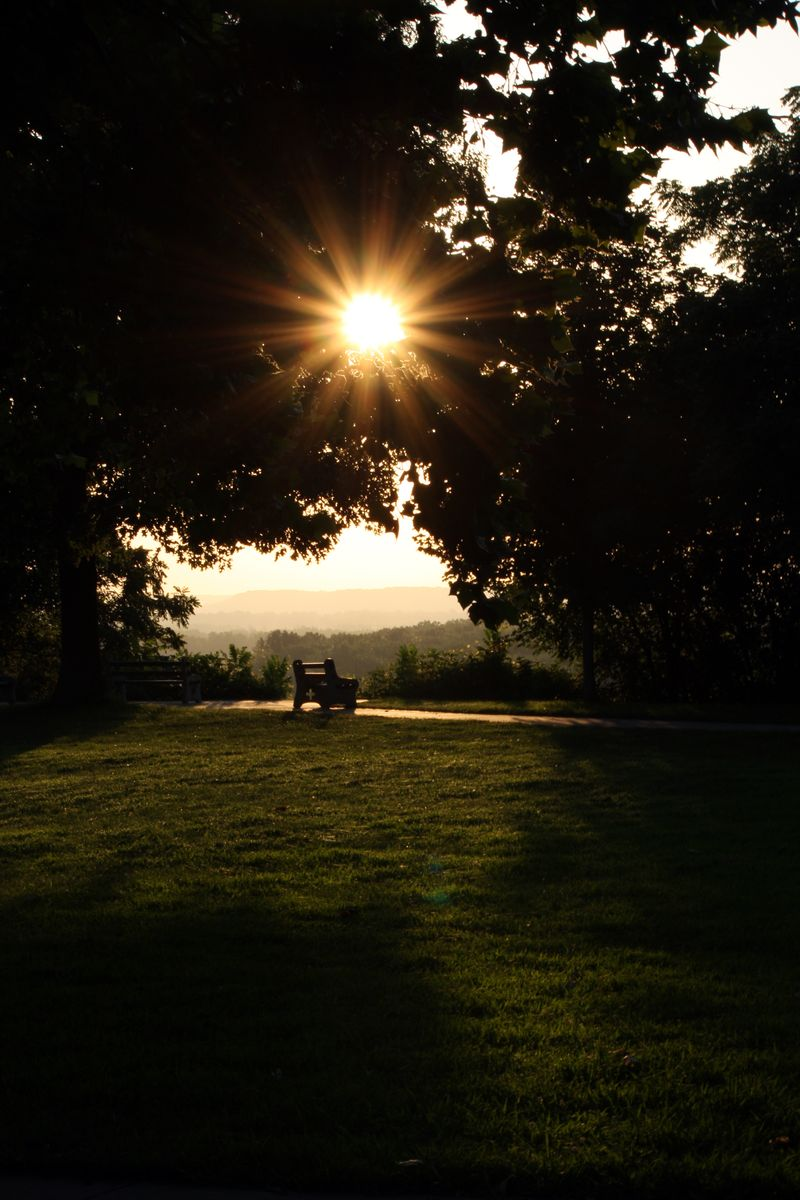 Bench_sunrise_Abbey