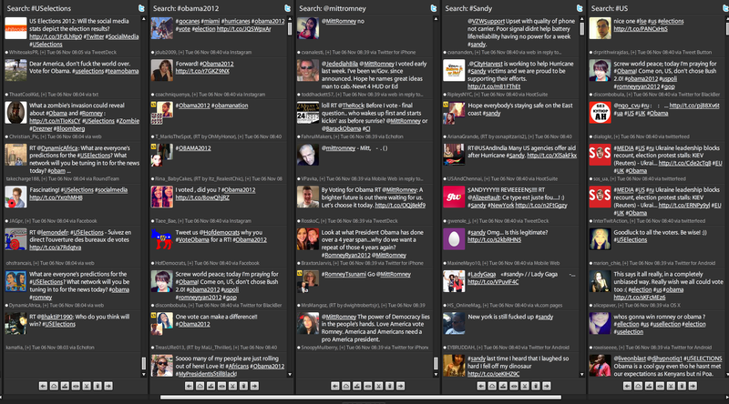 Tweetdeck feed