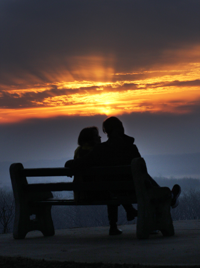 Couple on bench_1 web