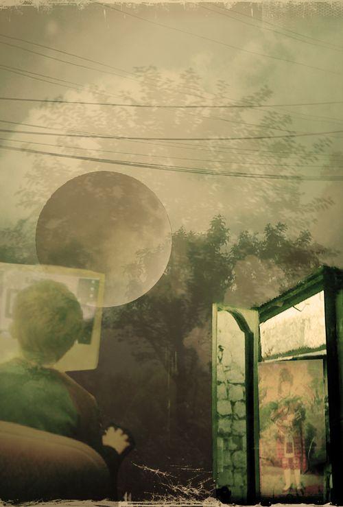 Montage moon